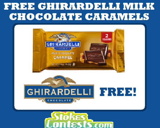 FREE Ghirardelli Chocolate Caramel Bar @Mariano's! TODAY ONLY!
