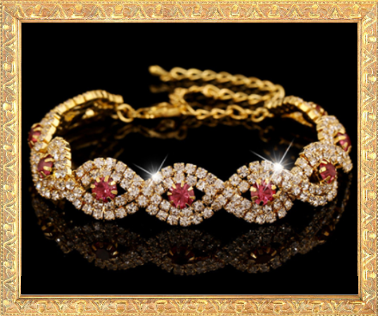 Win 1 of 7 Exquisite CRYSTAL & RHINESTONE Bracelets