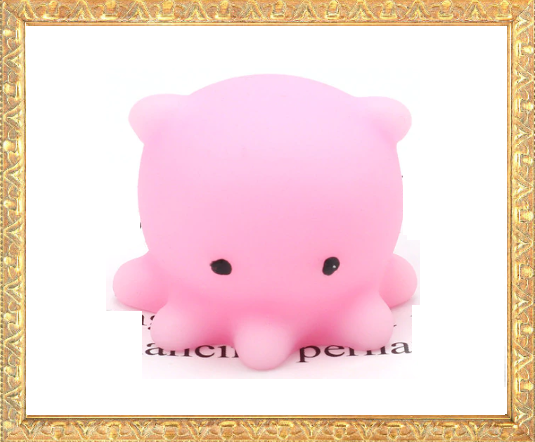 Win 1 of 8 Octopus Stress Squishy Toys BTS