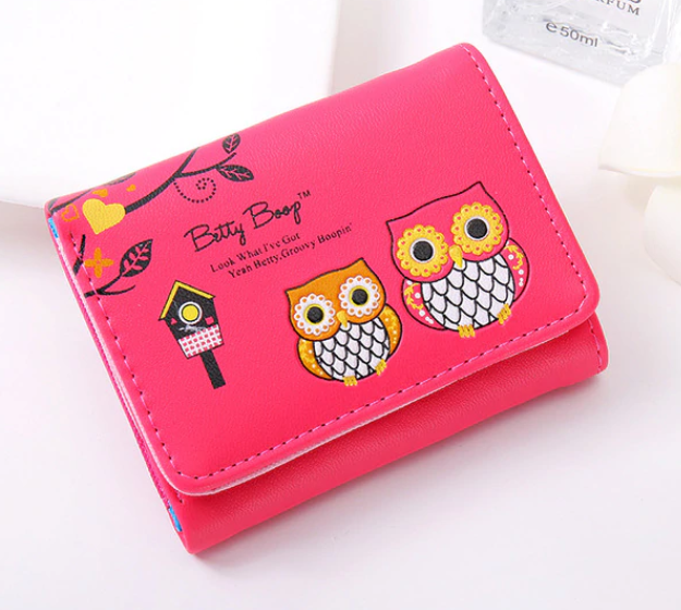 Win 1 of 3 Owl Wallets