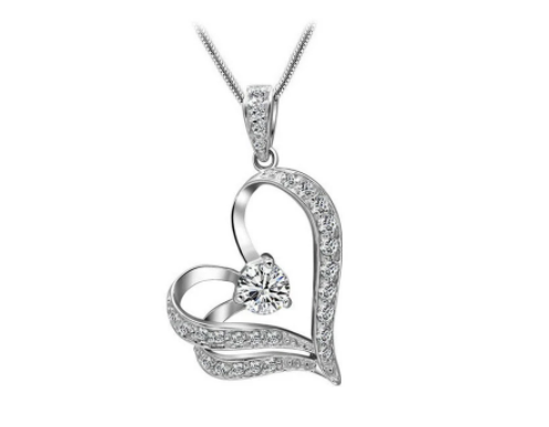 Win 1 of 5 CRYSTAL Heart Necklaces Giveaway #5