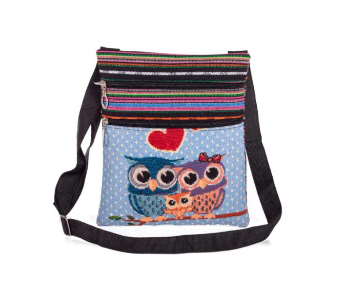 Win 1 of 4 Owl Shoulder Bags