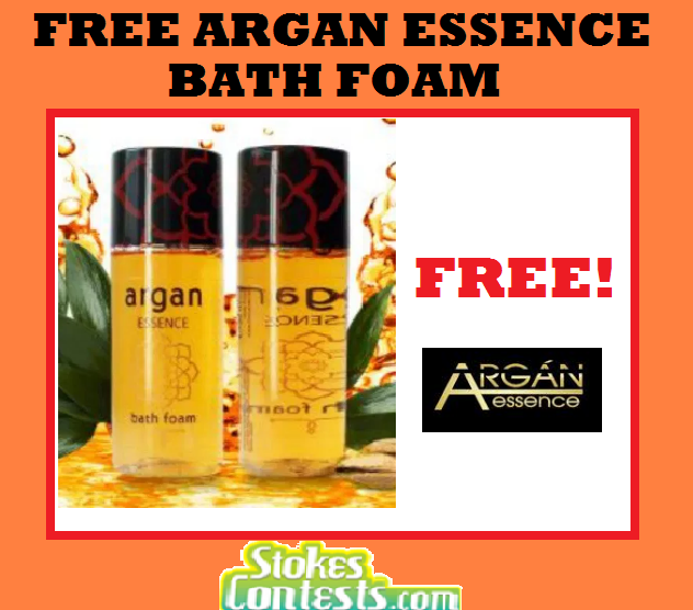 FREE Argan Essence Bath Foam