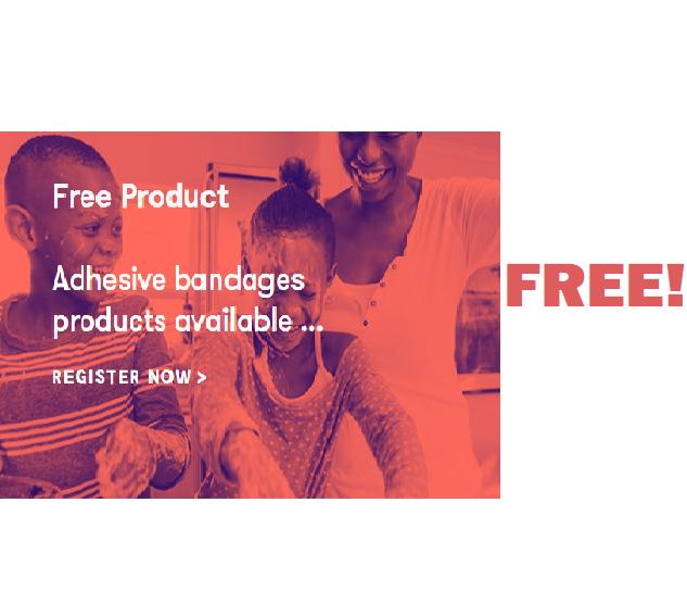 FREE Adhesive Bandages