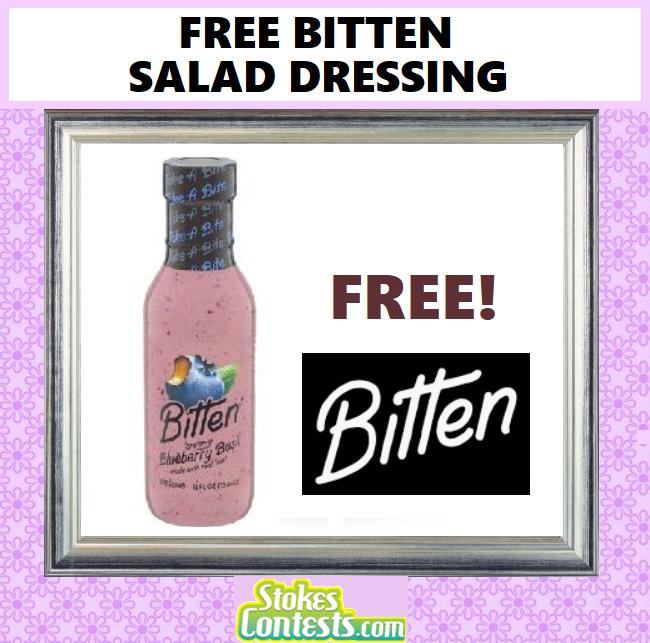 FREE Bitten Salad Dressing