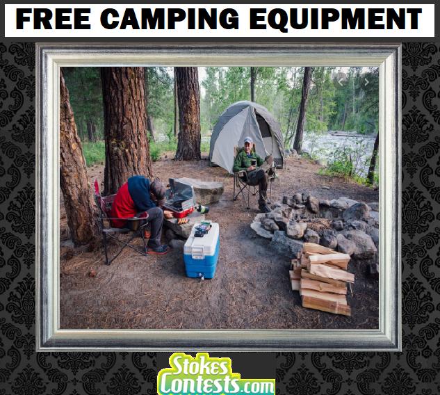 FREE Camping Equipment