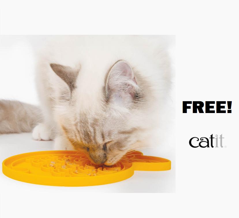 FREE Catit Feeding Mat