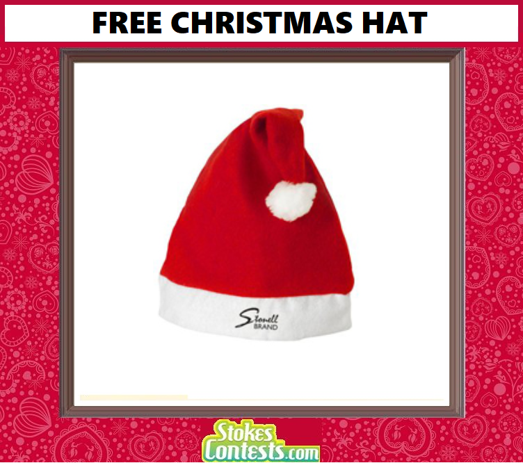 FREE Christmas hat