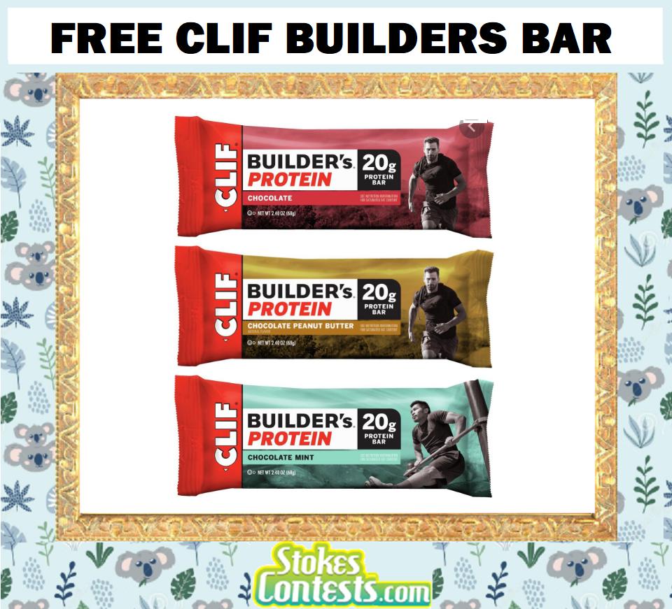 FREE Clif Builders Bar
