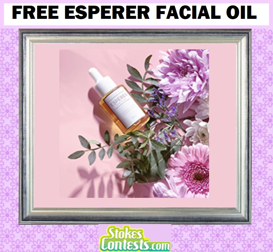 FREE Esperer Facial Oil