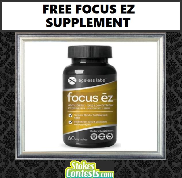FREE Focus EZ Supplement