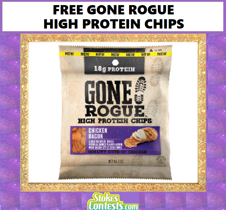 FREE Gone Rogue High Protein! Chips