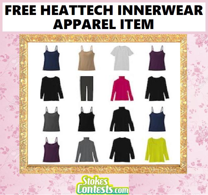 FREE HEATTECH Innerwear Apparel Item from UNIQLO!