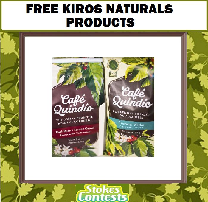 FREE Kiros Naturals Products