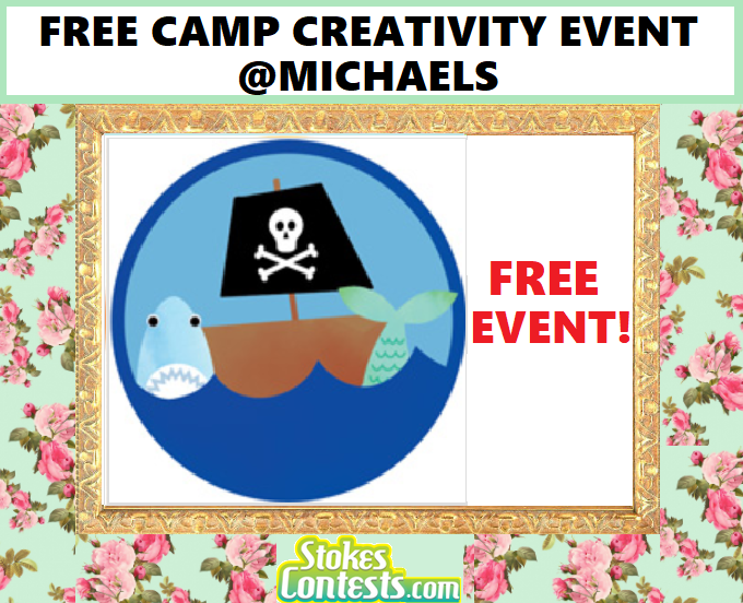 FREE Camp Creativity at Michaels.