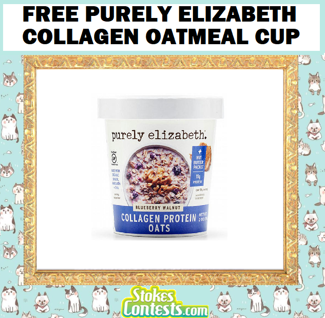 FREE Purely Elizabeth Collagen Oatmeal Cup