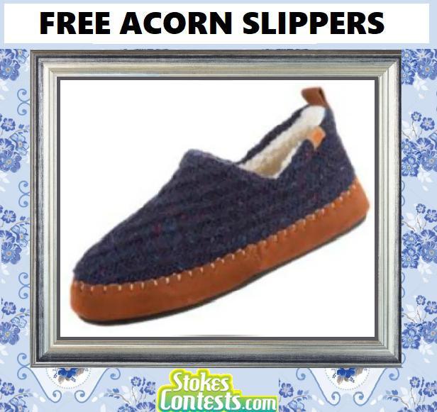 FREE Acorn Slippers