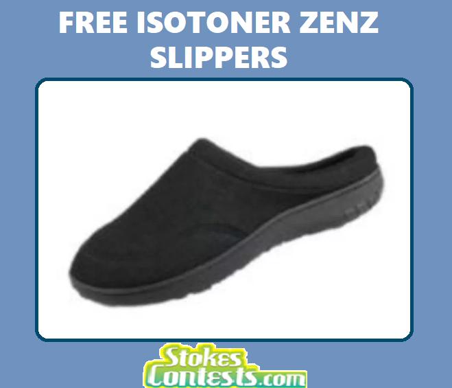 FREE Isotoner Zenz Slippers