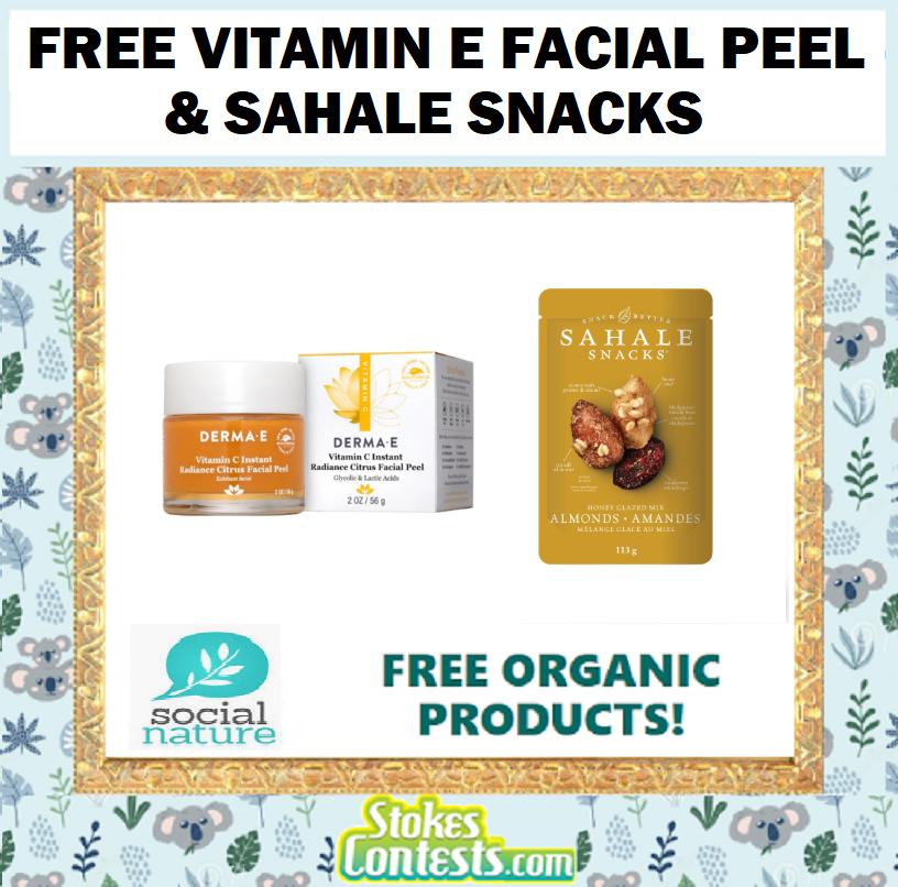 FREE Vitamin C Facial Peel & Sahale Snacks