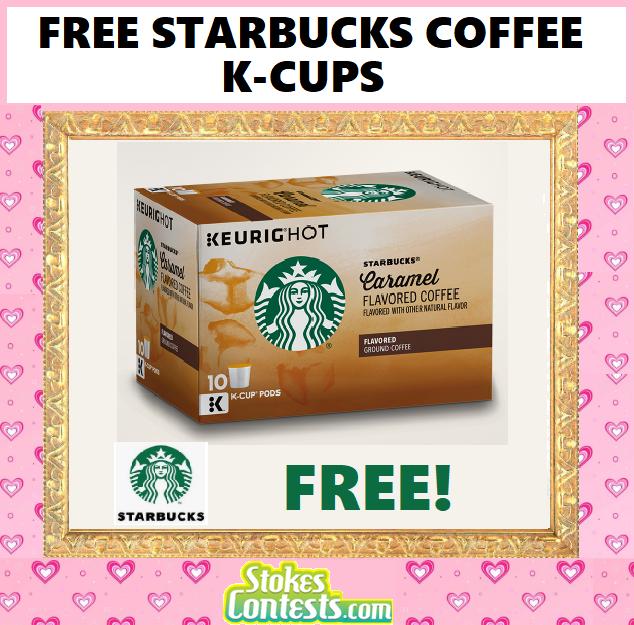 FREE Starbucks Coffee K-Cups