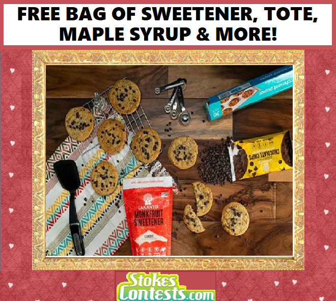 FREE BAG of Monkfruit Sweetener, TOTE, Maple Syrup & MORE!