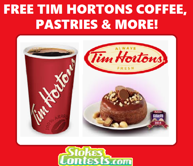 Share FREE Tim Hortons Coffee & Pastries to Your Friend!