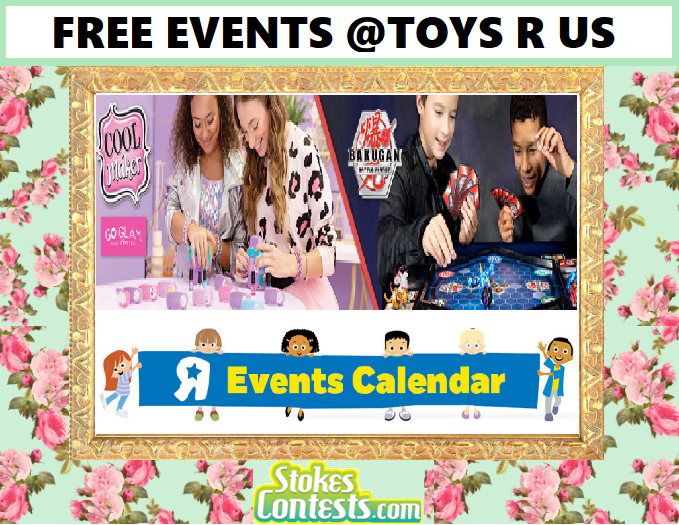 FREE Cool Maker Nail Station & Bakugan Summer Training Event @Toys R Us