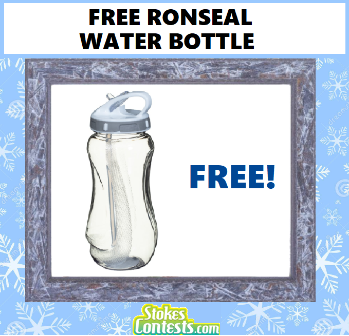 FREE Ronseal Water Bottle