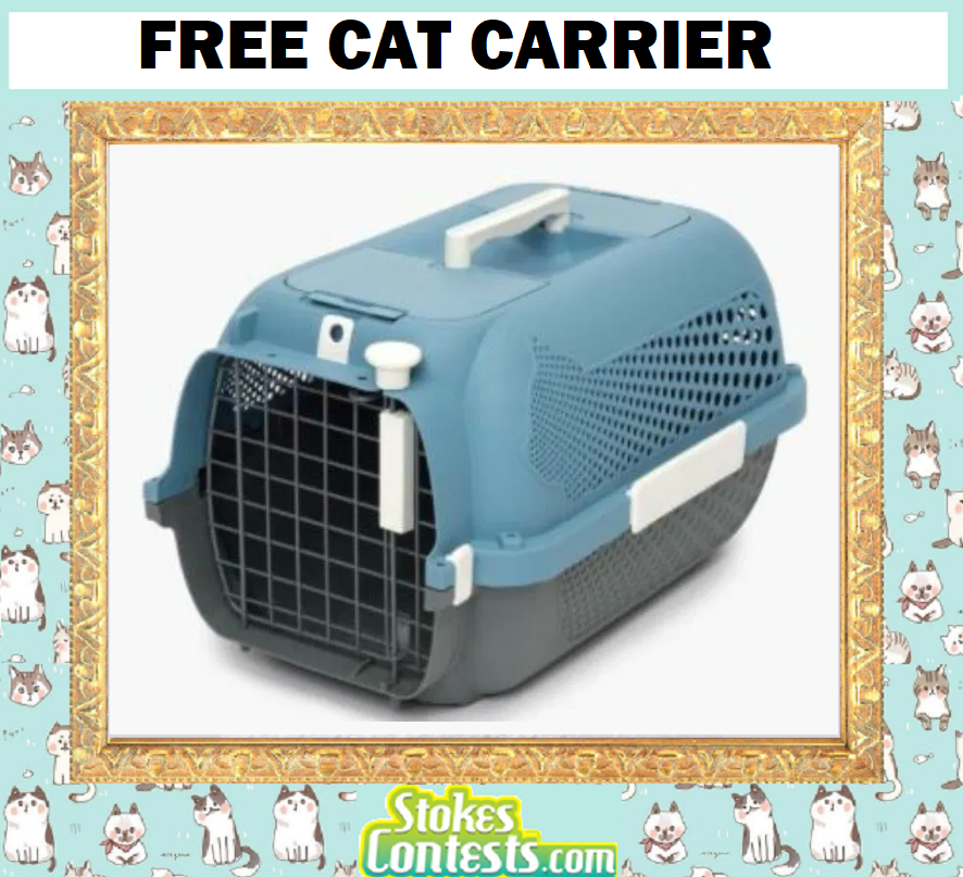 FREE Cat Carrier!