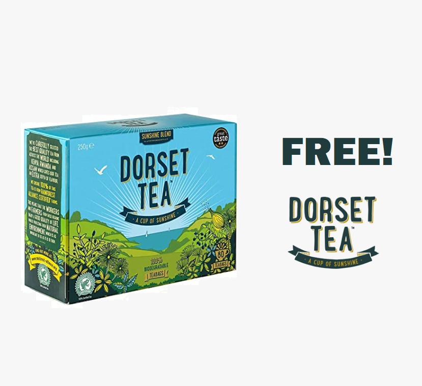 FREE Pack of Dorset Tea