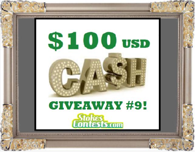 Win $100 CASH #9