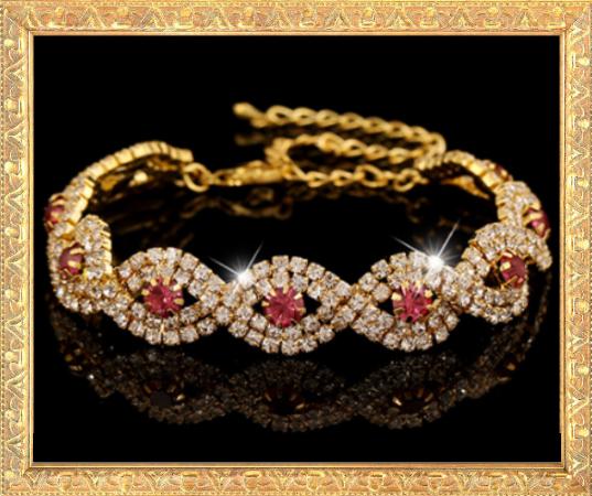 Win 1 of 7 Exquisite CRYSTAL & RHINESTONE Bracelets