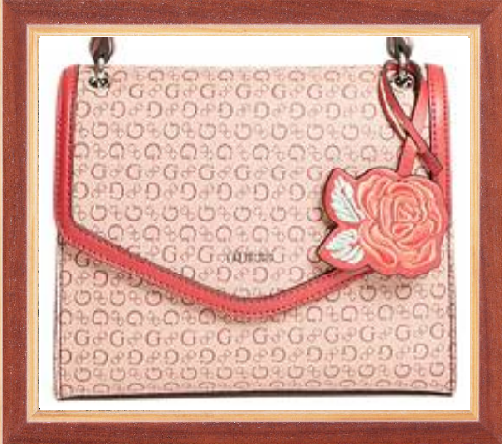 Win a GUESS Flower Handbag