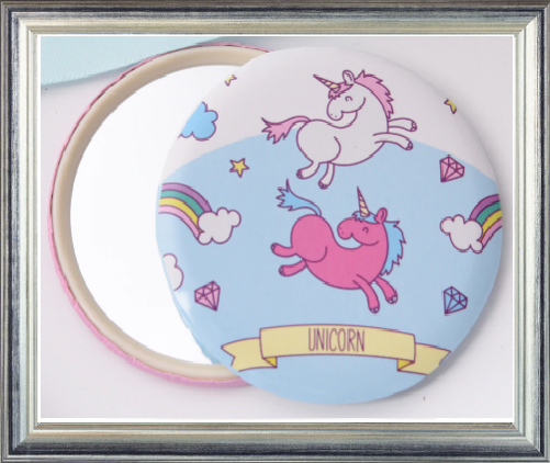 Win 1 of 7 Unicorn Compact Mirrors
