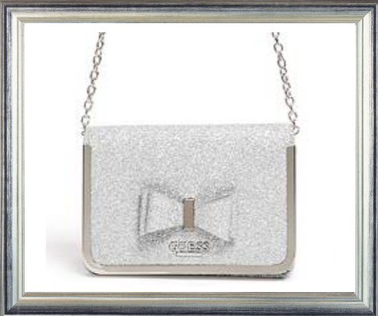 Win a GUESS Silver Bow Handbag