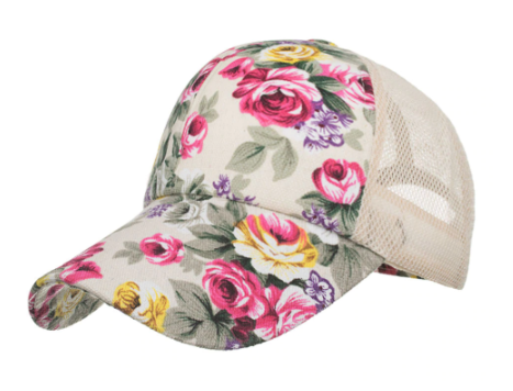 Win 1 of 5 Flower Baseball Caps