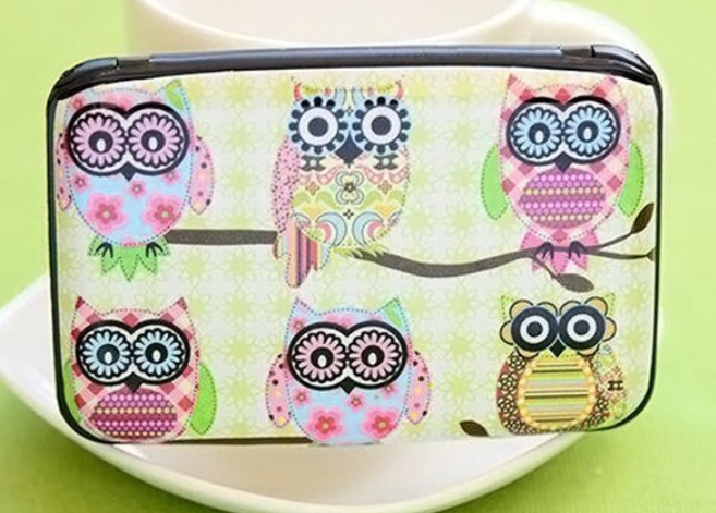 Win 1 of 4 Owl Credit Card Holders