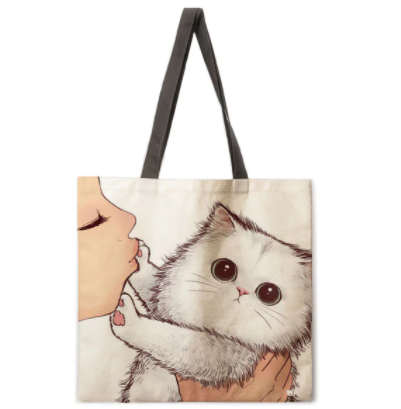 Win 1 of 3 Cat Tote Bags